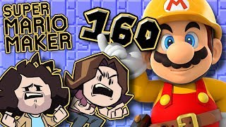 Super Mario Maker: The Goal - PART 160 - Game Grumps