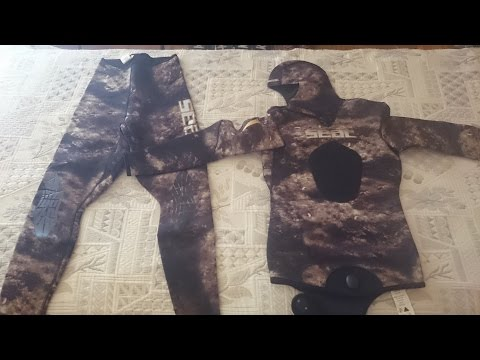 SEAC SKIN CAMO 3,5mm wetsuit review