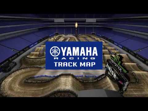 2018 Yamaha Track Map: Minneapolis