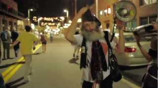 Raw Footage: Vermin Supreme Amplifies RNC Roving Dance Party with Megaphone