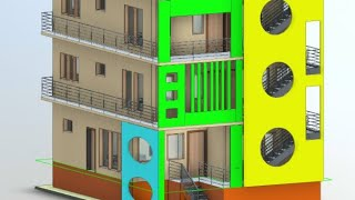 30X40 duplex house plan with 3 rentable houses || 3 Bedrooms || Car parking