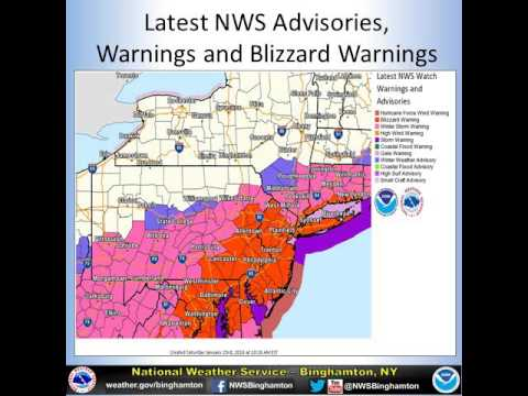 Northeast Pennsylvania winter storm 1/23/16