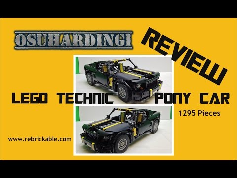 LEGO Technic Pony Car (Mustang) Review