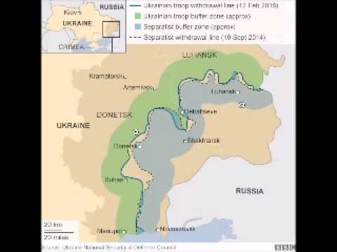 Ukraine crisis: EU links Russia sanctions to truce deal