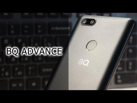 Обзор смартфона BQ Advance