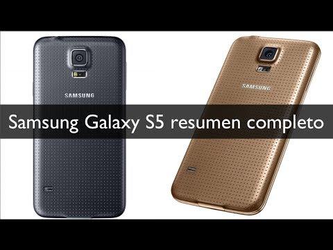 Samsung Galaxy S5 resumen MWC 2014