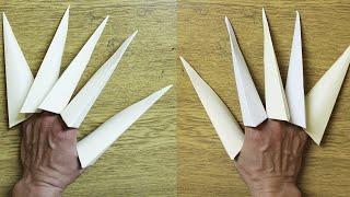 Comment faire des griffes en papier