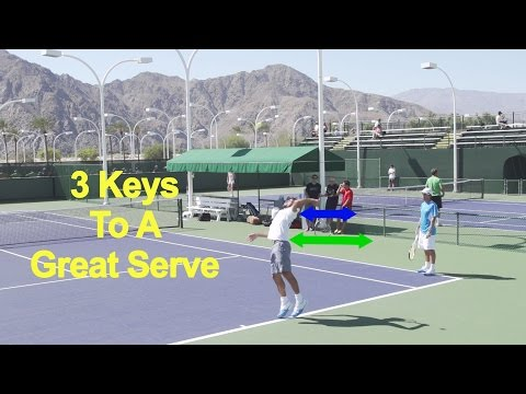 3 Keys To A Great Serve - Feliciano Lopez, Case Study