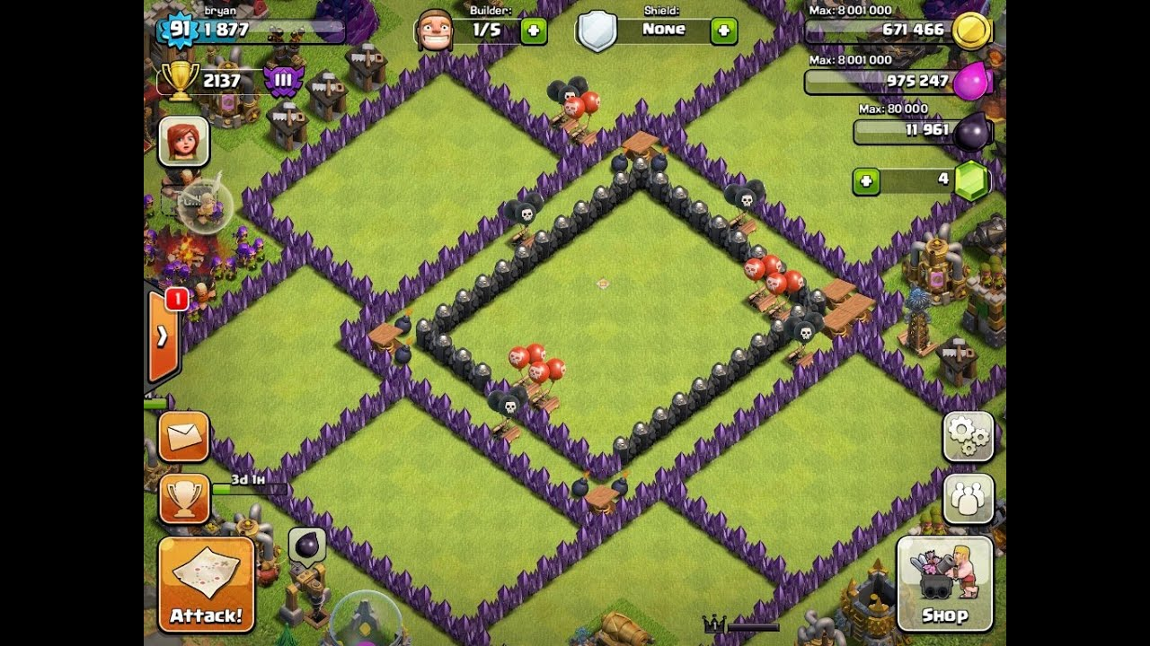 Clash of Clans Th 10 Trophy Base