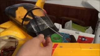 how to equip a rc plane with pitot pipe: Valkyrie jet Rc