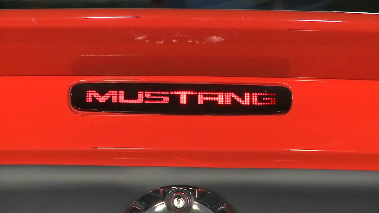 Mustang Third Brake Light Decal 05 09 Review Youtube