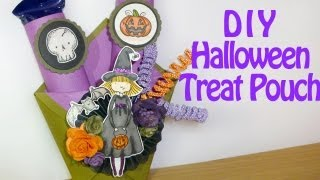 Halloween Treat Pouch Tutorial WOC