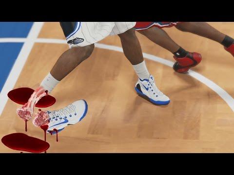 BEST NBA ANKLE BREAKERS CHALLENGE! NBA 2k16 & NBA 2k15 Roster! NO BIG MEN! MyTeam Gameplay
