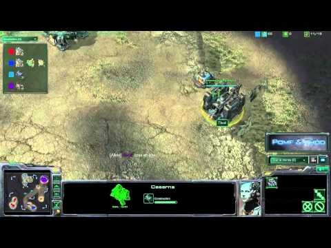 (HD066) Starcraft 2 Tutorial - Terran - Full Marines sur 3 barracks