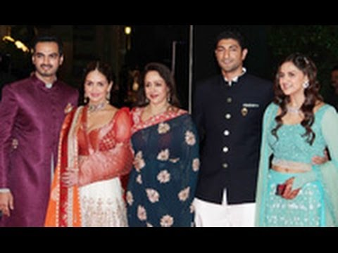 Ahana Deol & Vaibhav Vora's Sangeet Ceremony | Dharmendra, Hema Malini, Esha Deol | Wedding Marriage video