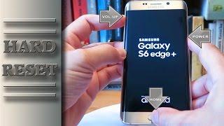 Samsung Galaxy S6 Edge Plus Hard Reset (Factory Reset)