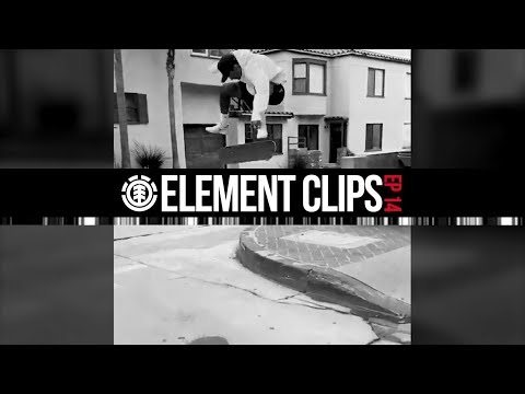 Element Clips #14 - Jaakko going hippie,  Nick Garcia, Gabriel Fortunat in Southbank & More...