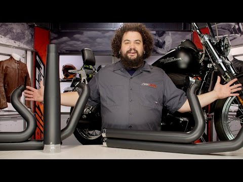 Rinehart Exhaust for Harley Dyna & Softail Review at RevZilla.com