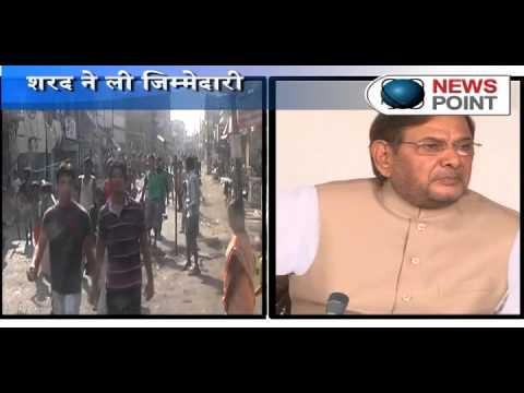 JD(U) chief Sharad Yadav speaks first time on Bihar Mid day Meal horror