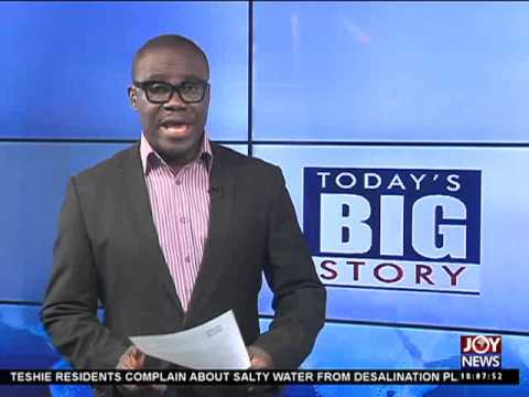 Power Barge - Today's Big Story on Joy News (27-10-15)