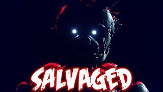 """Salvaged - FNaF Song by NateWantsToBattle [FNAF RE-ANIMATED LYRIC VIDEO]"