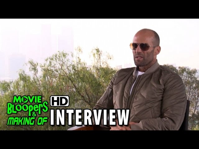 Furious 7 (2015) Official Movie Interview - Jason Statham