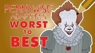 RANKING every IT Adaption (Pennywise SPEED-ART)
