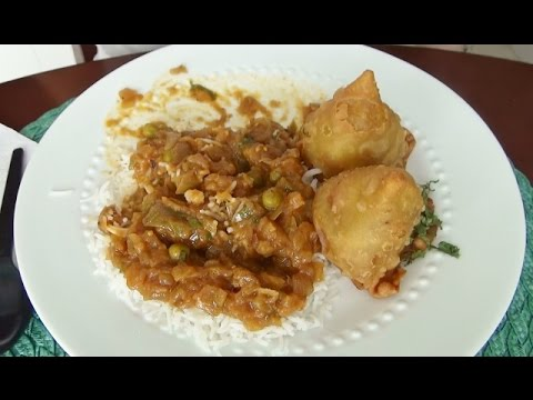 ASMR: Indian Food | Vegetarian | Tea | Eating Sounds