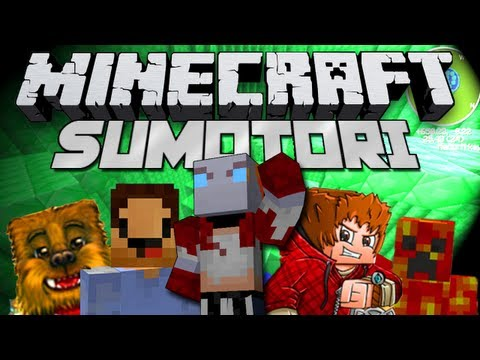Minecraft Mini-Game! SUMOTORI! w/Bajan Canadian Woofless and More!