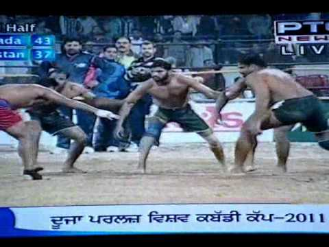 Kabadi Cup 2011 Semifinal Canada Vs Pakistan Part 7 video
