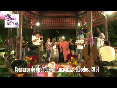 }Amacuzac: Espectacular Dia de Muertos, concursos, disfraces, misticismo
