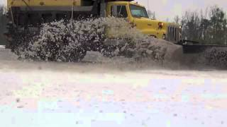 Eastern NC Snow Plowing NC DOT ~ 01/29-30/2014 ~
