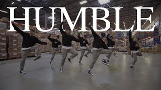 "BROTHERHOOD | ""HUMBLE"" - Kendrick Lamar | Scott Forsyth & Adrian Vendiola Choreography"