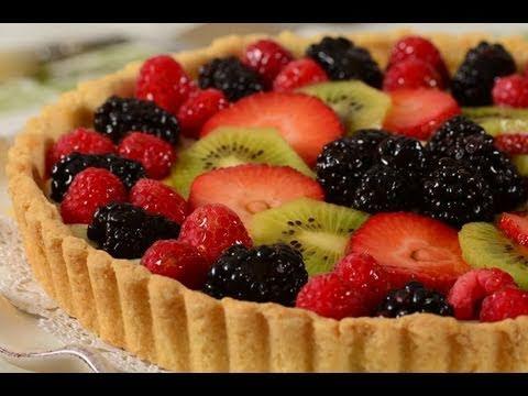 Fruit Tart Recipe Demonstration
