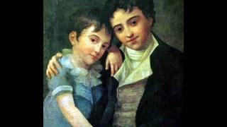Franz Xaver Wolfgang Mozart - Der Schmetterling auf einem Vergissmeinnicht