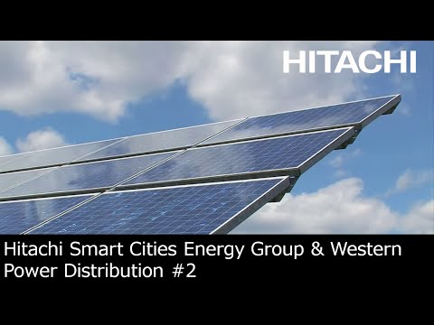 Hitachi Smart Cities Energy Group & Western Power Distribution joint venture (UK) : challenge