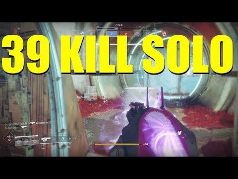 Destiny 2 39 KILL SOLO GAME