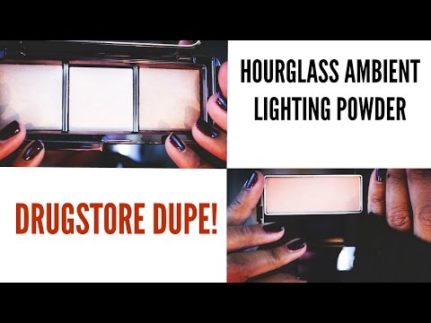 Hourglass Ambient Lighting Powder Drugstore Dupe Video I ByBare