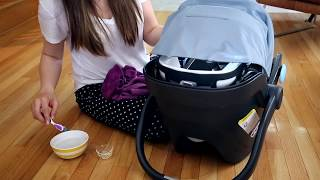 How to Clean a Baby Car Seat! UPPAbaby Mesa & Other Brands