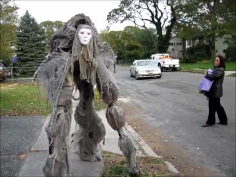 Scary stilt costume - photo#10