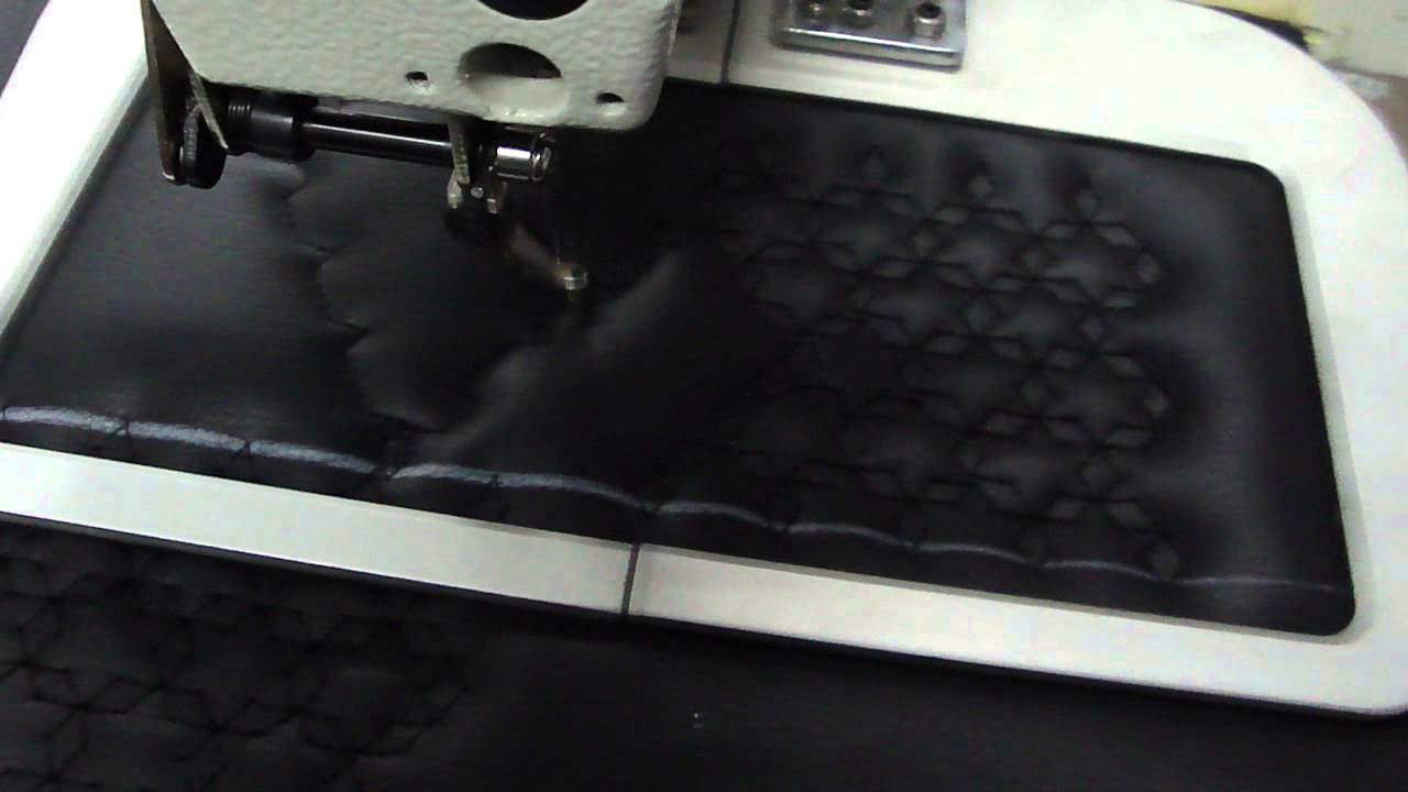 pattern sewing machine on car seat youtube. Black Bedroom Furniture Sets. Home Design Ideas
