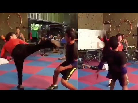 download lagu Tiger Shroff Amazing Fight Stunt Practice For Baaghi 2 gratis