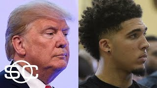 President Trump asks Chinese president for help in LiAngelo Ball and UCLA case   SportsCenter   ESPN