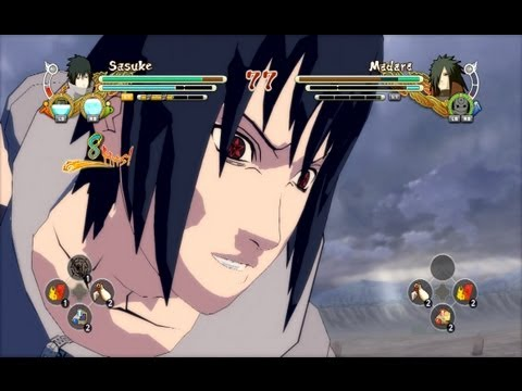 (ps3) Team 7 Vs Edo Madara Naruto Ultimate Ninja Storm 3 video