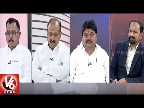 Special Debate On Mission Bhagiratha Works | Good Morning Telangana | V6 News