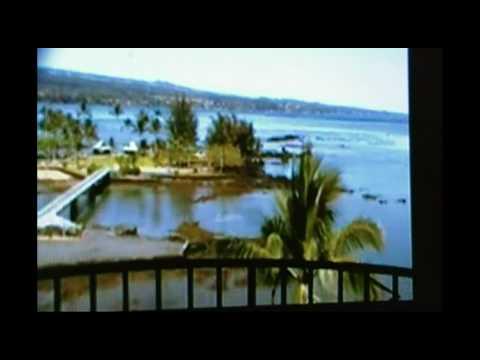 Time Lapse Tsunami Waves Hilo Bay Hawaii