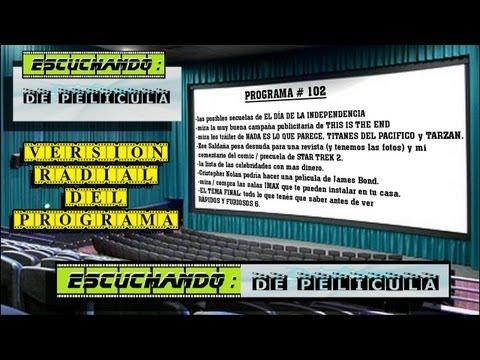 Escuchando: DE PELICULA #102 - RAPIDOS Y FURIOSOS 6 / This is the end / James Bond / STAR TREK 2