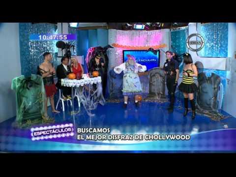 Melcochita y Susy Díaz escogieron al mejor disfraz de 'Chollywood'