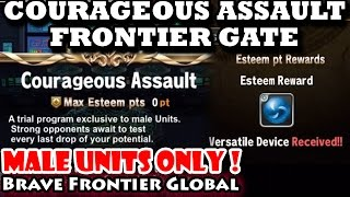 Courageous Assault Frontier Gate Walkthrough (Brave Frontier Global)