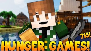 """Minecraft: """"I AM THE GENERAL!"""" Hunger Games w/Bajan Canadian! Game 715"""